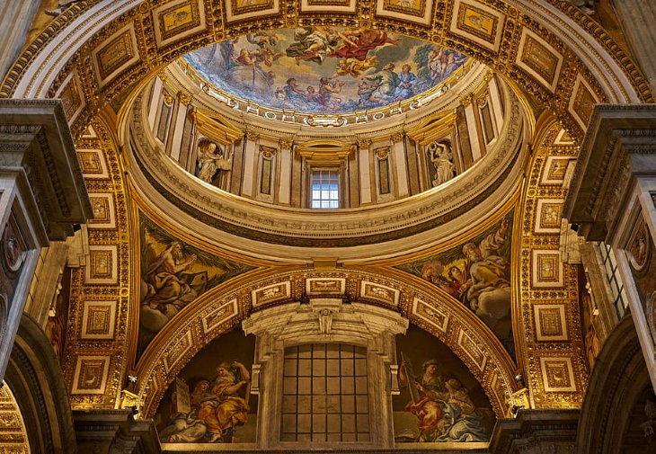 Renaissance Buildings St. Peter's Basilica interior