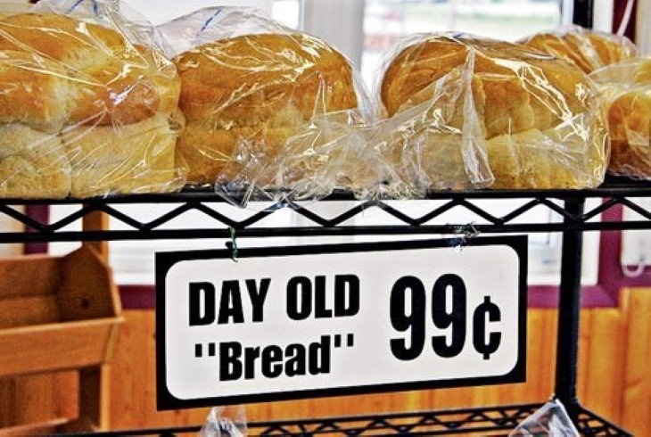 "Funny Public Signs ""bread"""