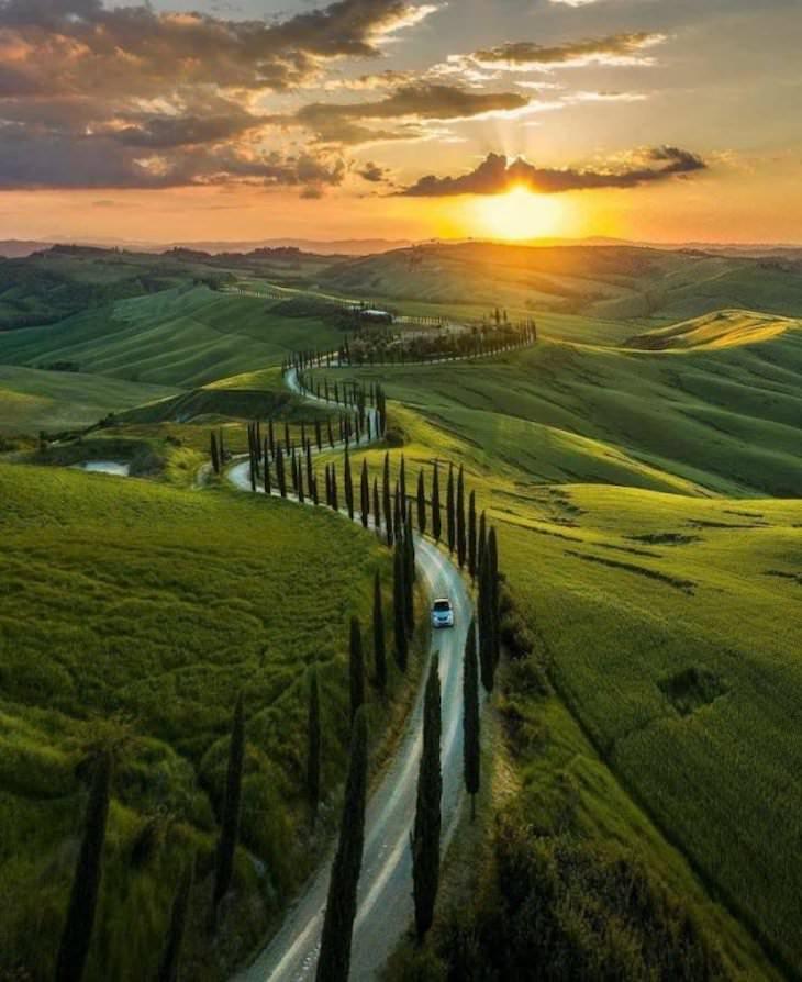 19 Images Showcasing the World's Endless Wonders, Tuscany