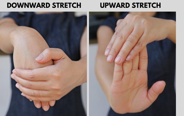 Hand Exercises for Arthritis wrist stretches