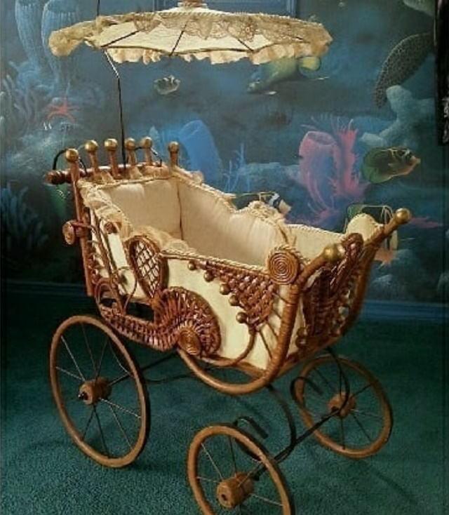 Antique Household Items stroller