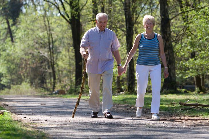 Exercises to Manage Diabetes, Walking