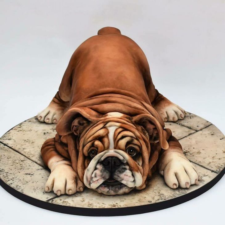 15 Gorgeous and Realistic Cakes by Emma Jayne dog
