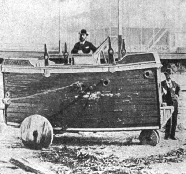 Early Submarines, Argonaut Junior