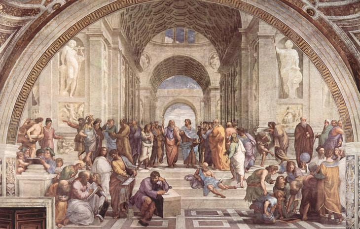 Latin Abbreviations philosophers painting