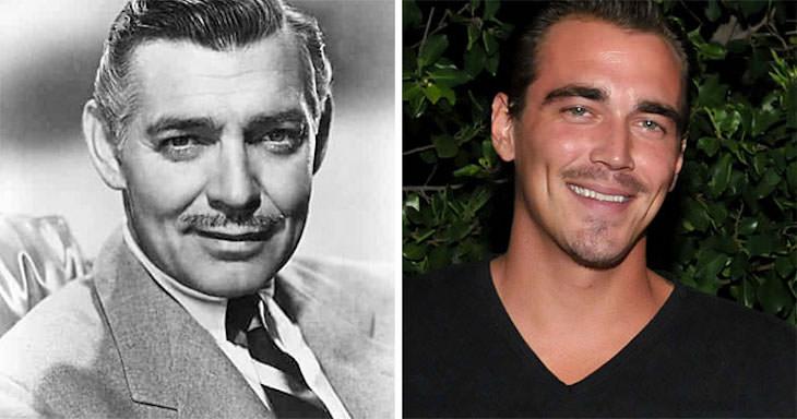 18 Iconic Celebrities with Famous Grandchildren Clark Gable And Clark Gable III
