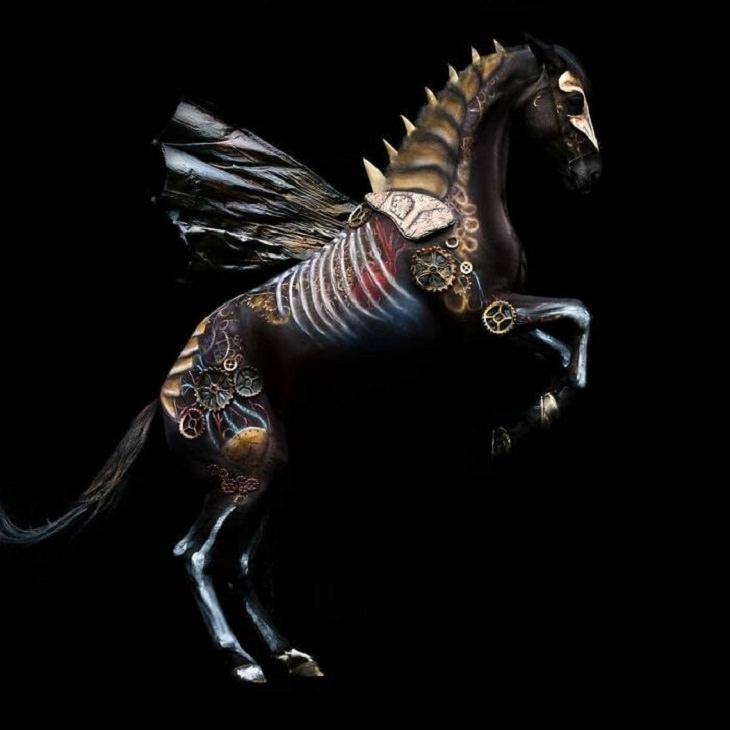 Body Art, horse