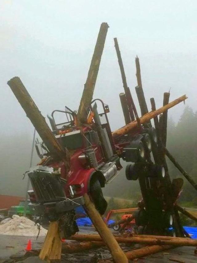 Work Safety Fails truck