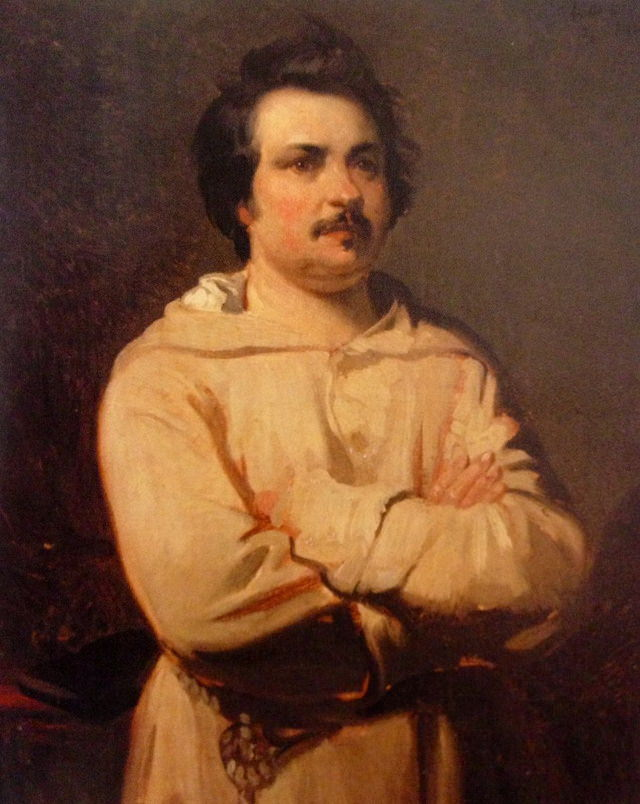 Strange Habits of Famous Writers Honore de Balzac