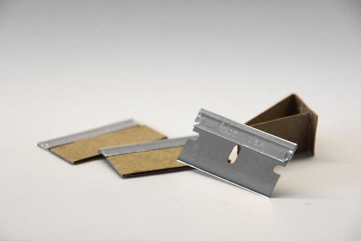 Why Old Homes Might Have Razor Blades In the Walls, razor blade