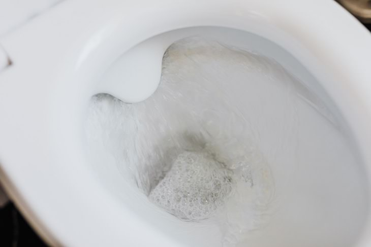 Repair a Running Toilet flushing toilet