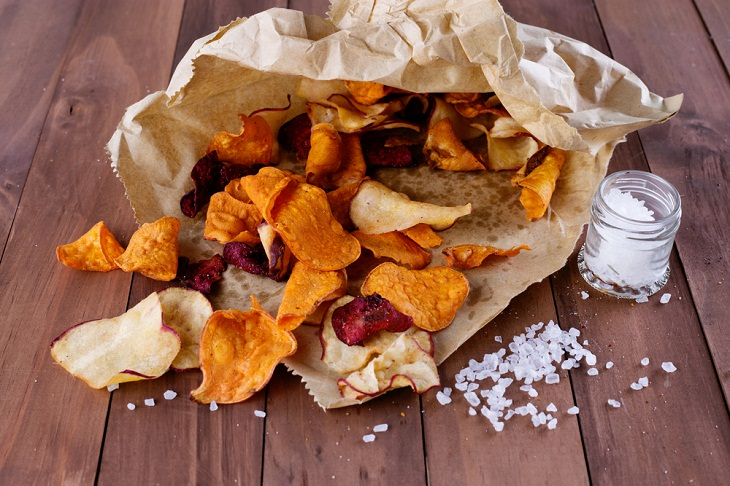 Healthy Foods with a Misleading Halo. Veggie Chips