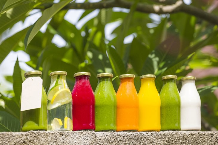 Healthy Foods with a Misleading Halo. Cold-pressed juice