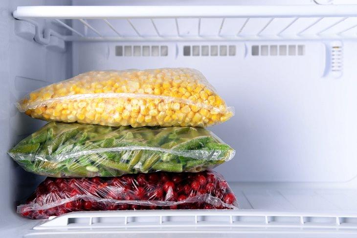 Tips to Maximize Freezer Storage,  Freeze items flat