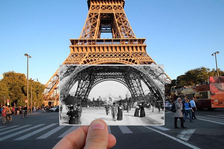 Then and Now: Paris, Eiffel