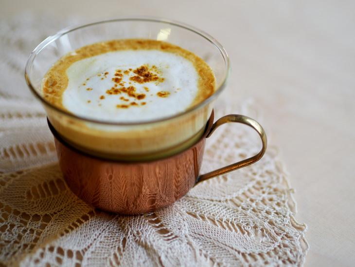 Turmeric Coffee latte