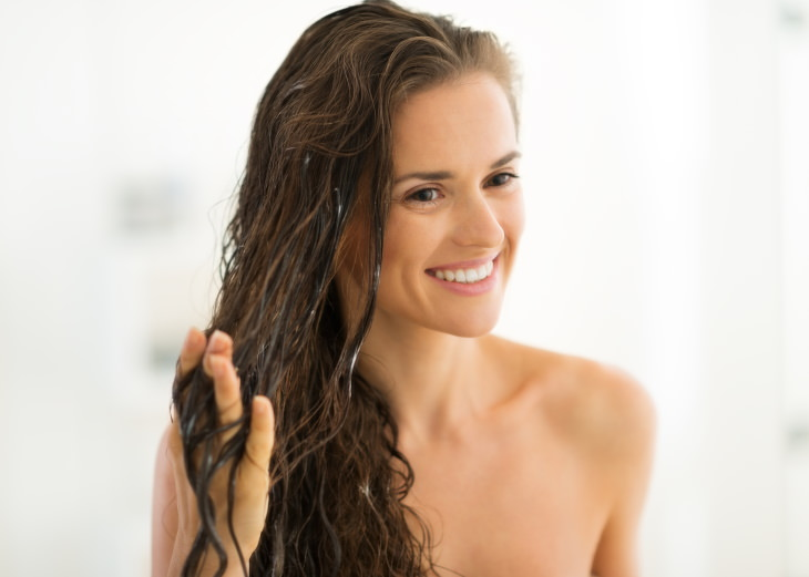 Rice Water Uses hair mask