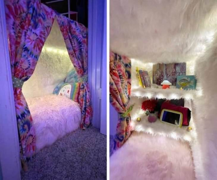 14 Super Cool and Resourceful Storage Solutions closet hideout