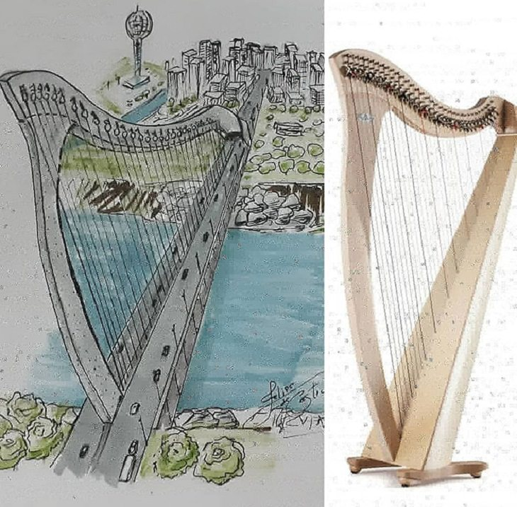Buildings Inspired By Everyday Objects, bridge