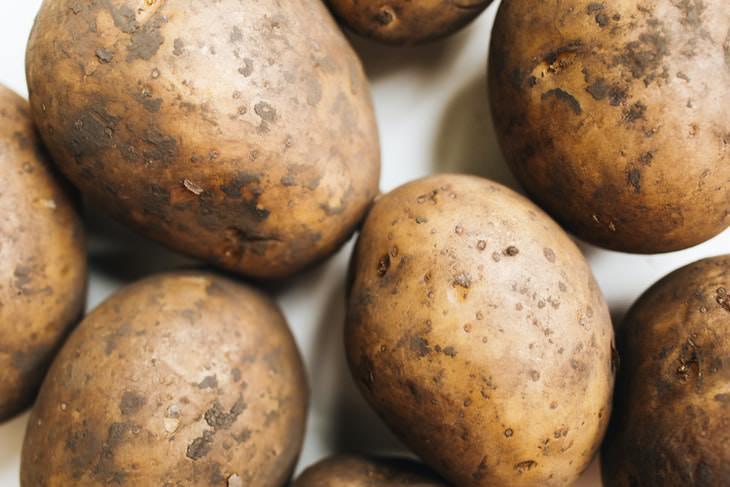 Dishwasher Hacks potatoes