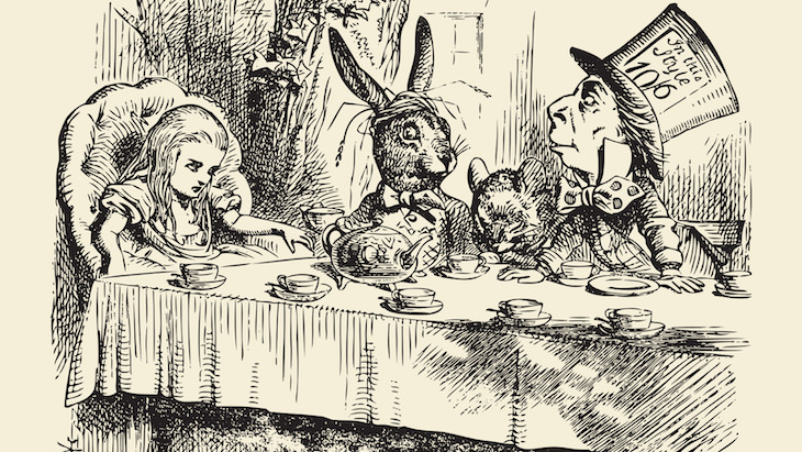 What's Portmanteau? Surprising Etymologies of Common Words, Alice in Wonderland