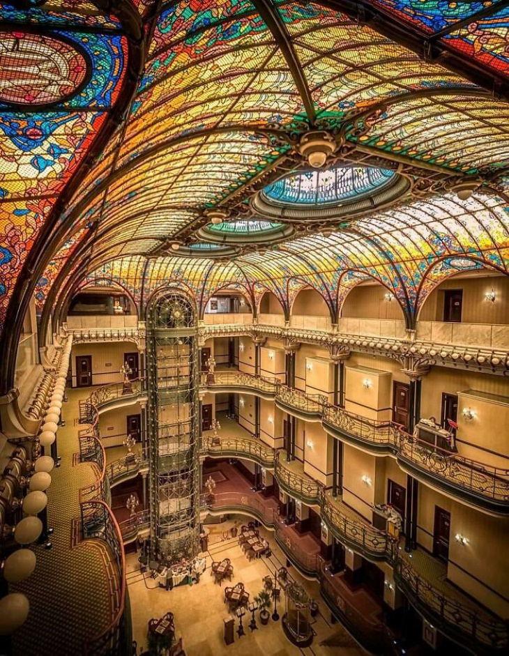 cool buildings Gran Hotel Ciudad De México
