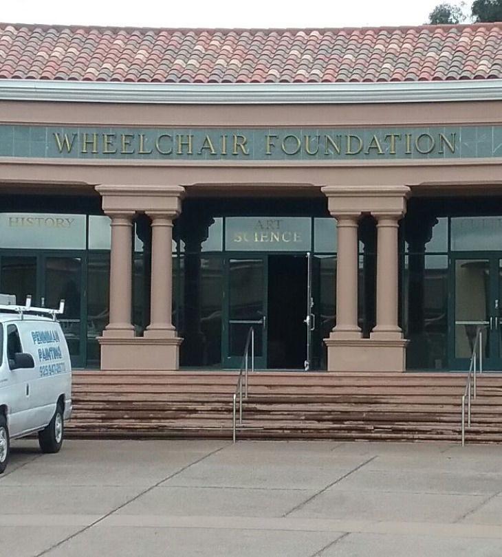 Disastrous Stair Design Wheelchair Foundation