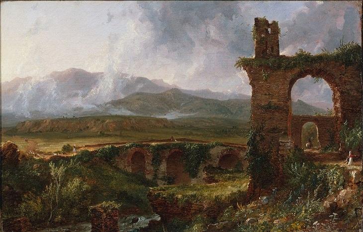 Landscape Paintings by Thomas Cole, Tivoli