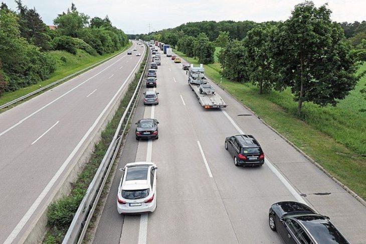 Life in Germany, traffic jam
