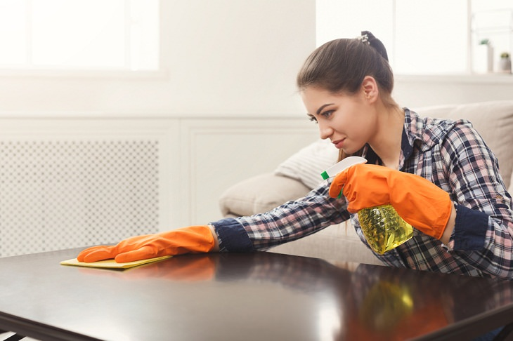 Things You Should Never Clean With Glass Cleaner,  Wooden Furniture