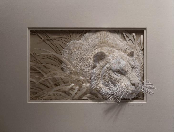 Calvin Nicholls paper art