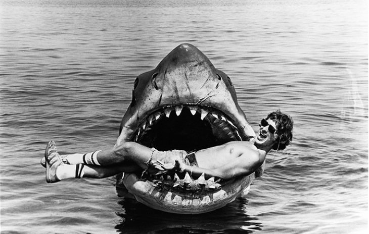 Behind-the-Scene Photos From Movies Jaws (1975)