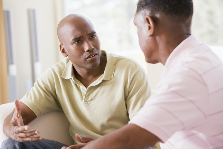 Tips for Handling a Difficult Conversation men arguing
