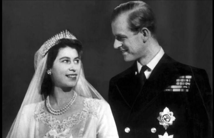 12 Photos to Honor the Memory of Prince Philip Prince Philip and Princess Elizabeth on their wedding day, 1947