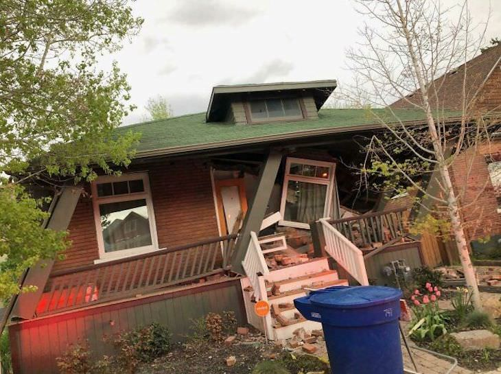 Home Improvement Projects Gone Wrong house falling apart