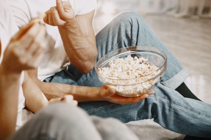 Constipation Relief Popcorn