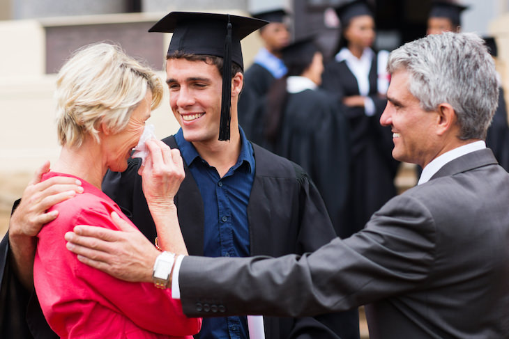 7 Effects Crying Has On Our Body and Mind woman crying at graduation
