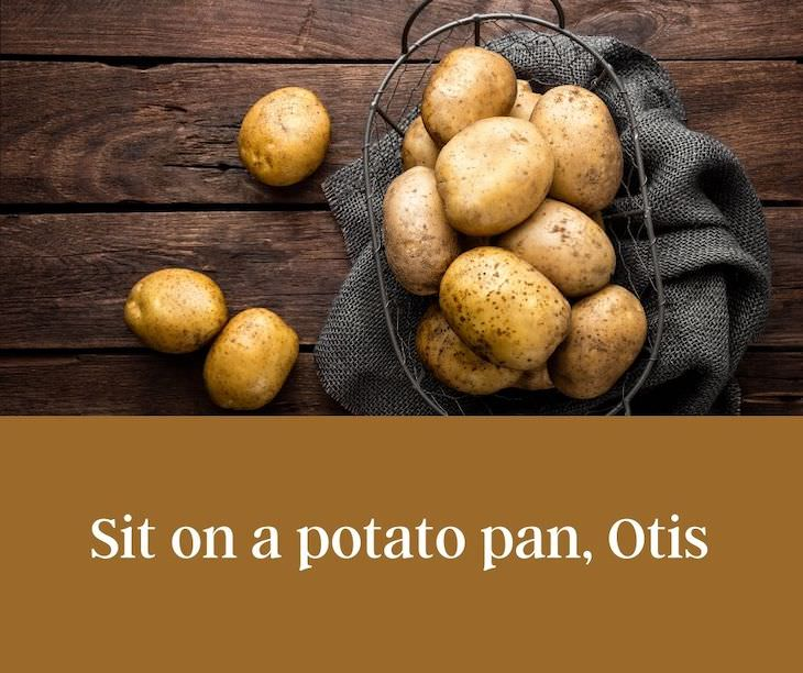 13 Funny Palindromes That Will Make You Giggle Sit on a potato pan, Otis