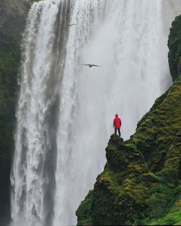 Stunning Landscape Photos by Alexander Ladanivskyy waterfall