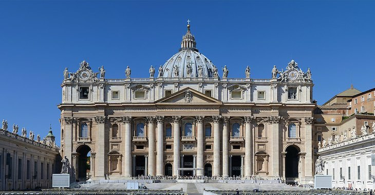 9 Oldest Churches Around the World St. Peter's Basilica
