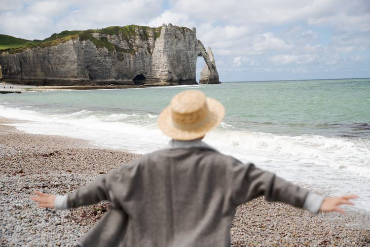 Arthritis and Joint Pain Myths woman on a beach