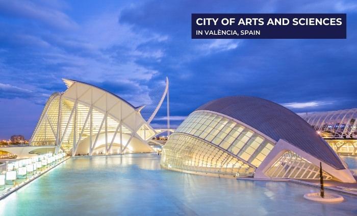 Santiago Calatrava city of arts and sciences The City of Arts and Sciences 1