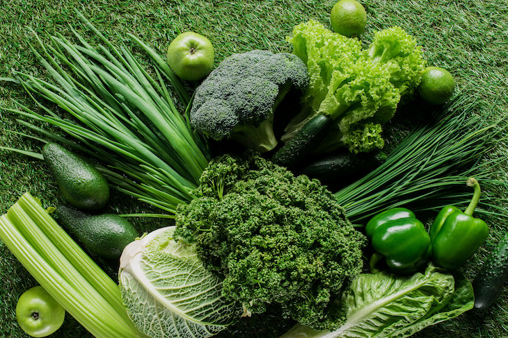 Chlorophyll - Health Benefits and How to Obtain It green vegetables