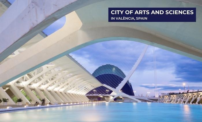 Santiago Calatrava The City of Arts and Sciences 2