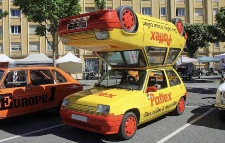 Wackiest Car Modifications, two cars
