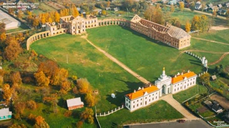 Amazing Digital Reconstruction of Ancient Palaces Ruzhany Palace, Belarus