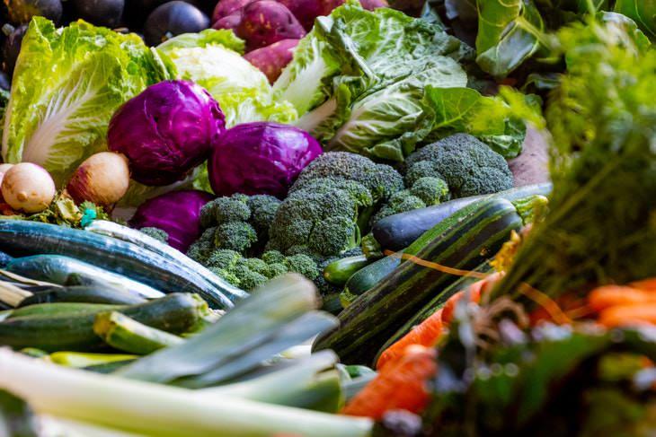 Vitamin K vegetables