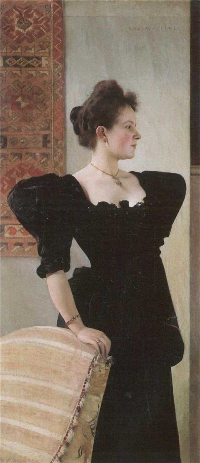Gustav Klimt Portrait of Marie Breunig(1894)
