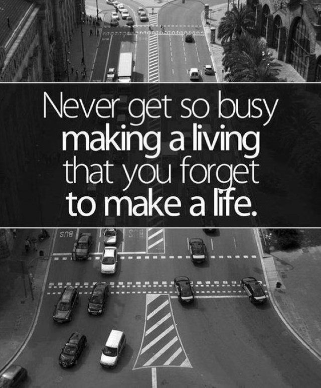 Quotes making a living