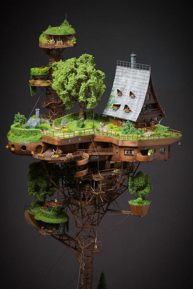 Mini Village, Skyville, modelo